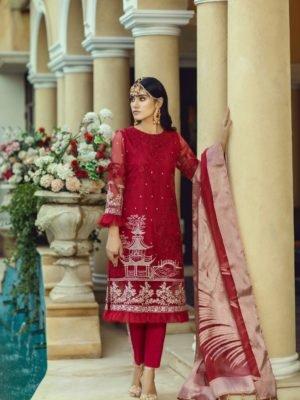 Azure Luxe Festive Edition Vol 3 - Original Azure Luxe Festive Edition – Ethnic Charm L-04 Ready to Ship - Original Pakistani Suits