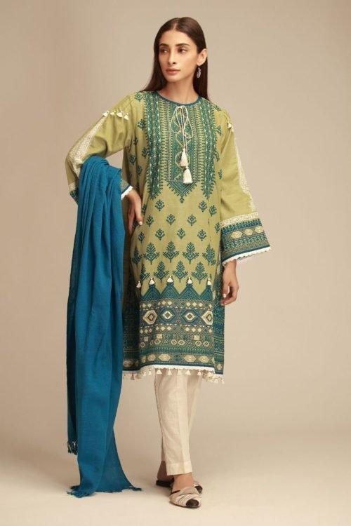*Hot on Sale* Khaadi Khaddar KZ18401 [tag]