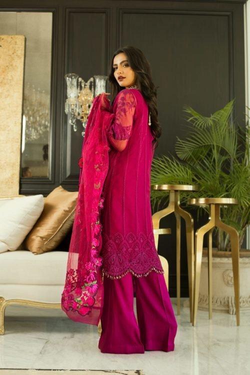 Mina Hasan Embroidered Chiffon 2020 – MHC-3 Best Sellers Restocked best salwar suits online