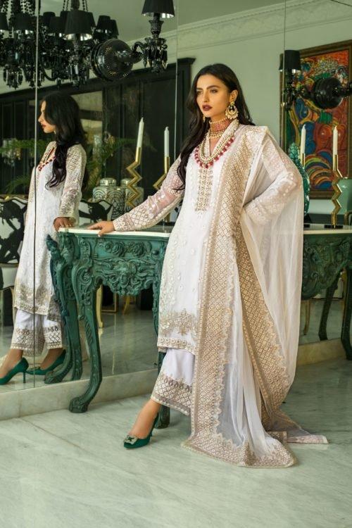 Mina Hasan Embroidered Chiffon 2020 – MHC-5 Best Sellers Restocked best salwar suits online
