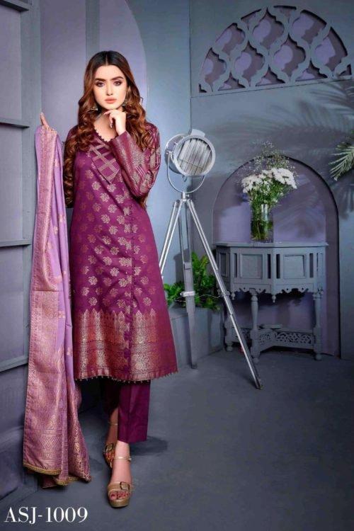 Amna Sohail Cotton Cambric – Design ASJ 1009 Amna Sohail Cotton Cambric by Tawakkal - Original [tag]