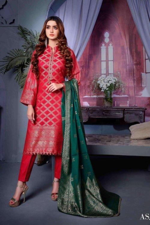 Amna Sohail Cotton Cambric – Design ASJ 1010 Amna Sohail Cotton Cambric by Tawakkal - Original [tag]