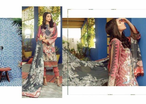 Alkaram Summer 2020 -SS-25-20-LIGHT PINK| 2 PIECE *Best Sellers Restocked* Lawn Kameez Suits