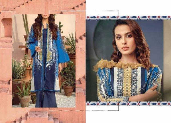 Alkaram Summer 2020 -SS-25-20-BLUE| 2 PIECE *Best Sellers Restocked* Lawn Kameez Suits