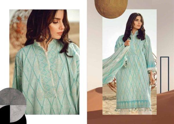 Alkaram Summer 2020 – SS-25.1-20-BLUE| 2 PIECE *Best Sellers Restocked* Lawn Dupatta Suits