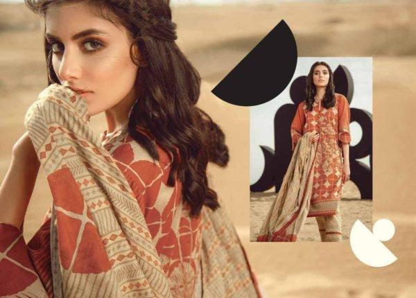 Alkaram Summer 2020 -SS-11.1-20-ORANGE| 3 PIECE *Best Sellers Restocked* Lawn Kameez Suits