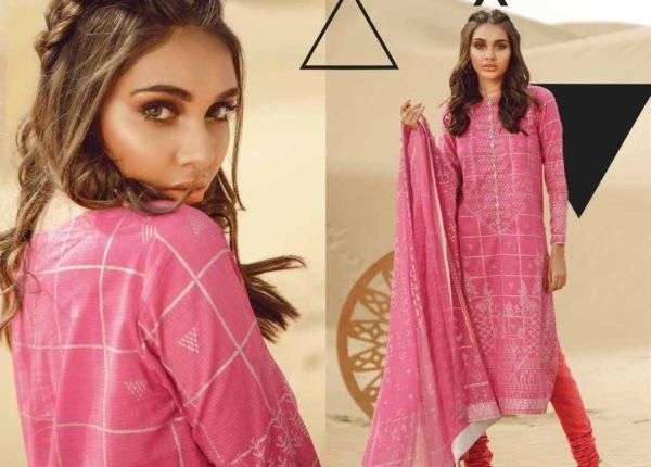Alkaram Summer 2020 -SS-20.1-20-PINK| 3 PIECE *Best Sellers Restocked* Lawn Kameez Suits