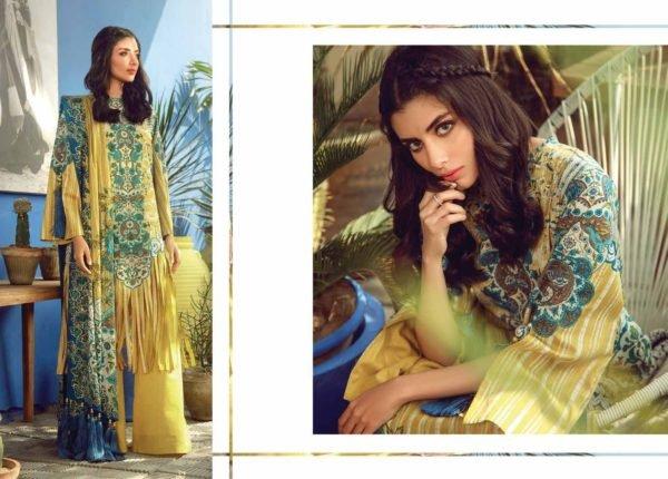 Alkaram Summer 2020 – SS-15-20-YELLOW| 3 PIECE *Best Sellers Restocked* Lawn Dupatta Suits