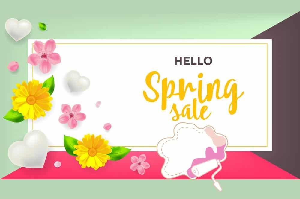 hello spring sale 2021