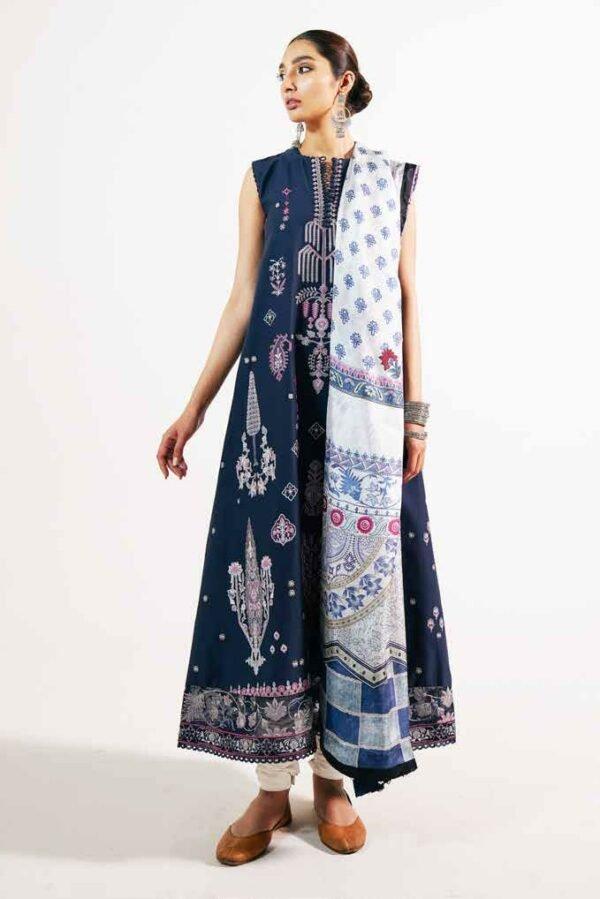 Zara Shahjahan Embroidered Lawn 2021 – KHUSHALA-A